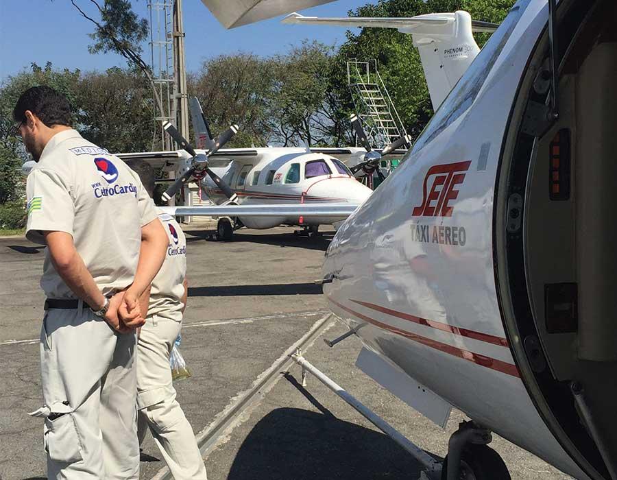 Transporte Aeromédico: Porto Velho-São Paulo