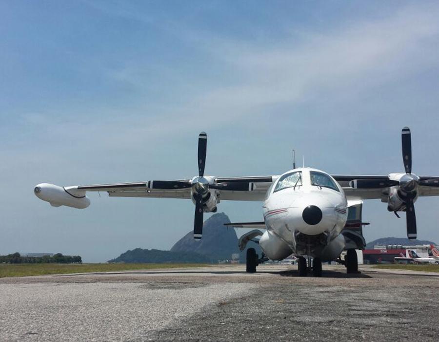 Transporte Aeromédico de segurança – Rio de Janeiro