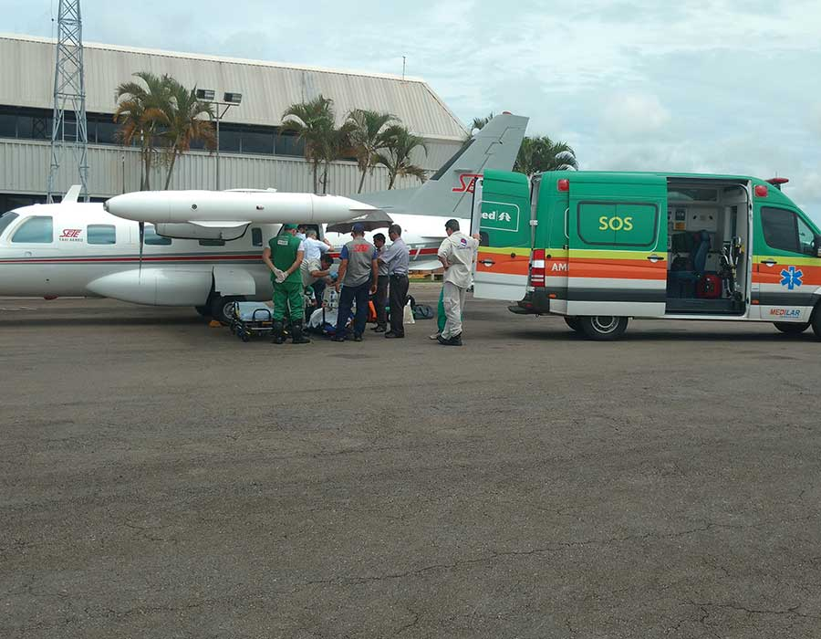 3 missões de UTI Aérea: Montes Claros – Goiânia