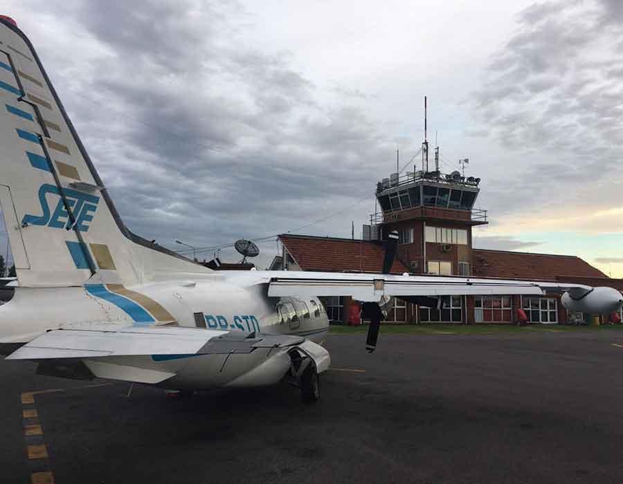 Transporte Aeromédico de urgência vindo da Argentina