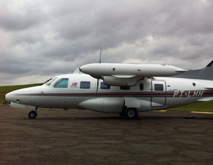 Transporte de UTI Aérea São Paulo-Brasília