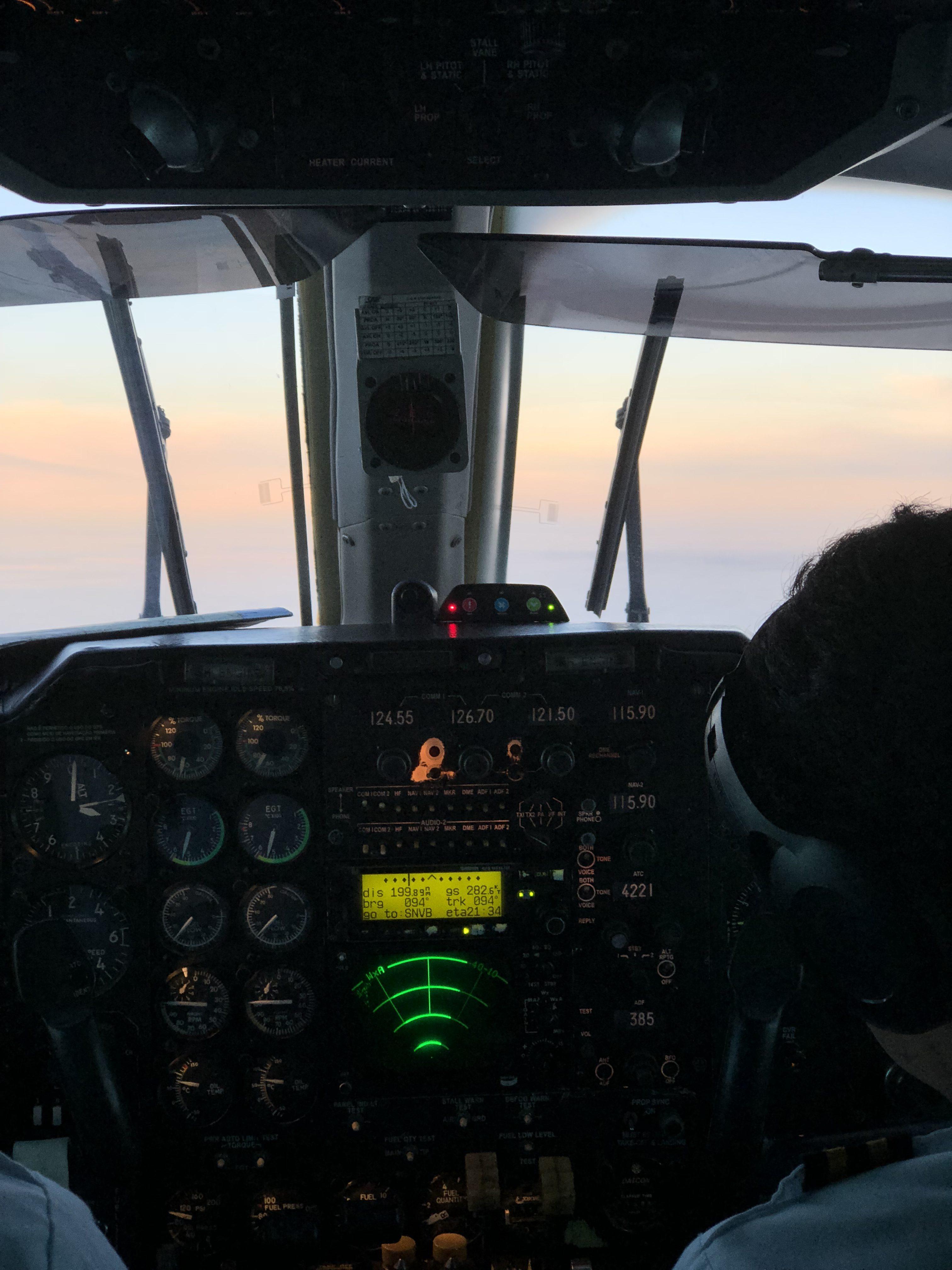 Uti aérea na Bahia