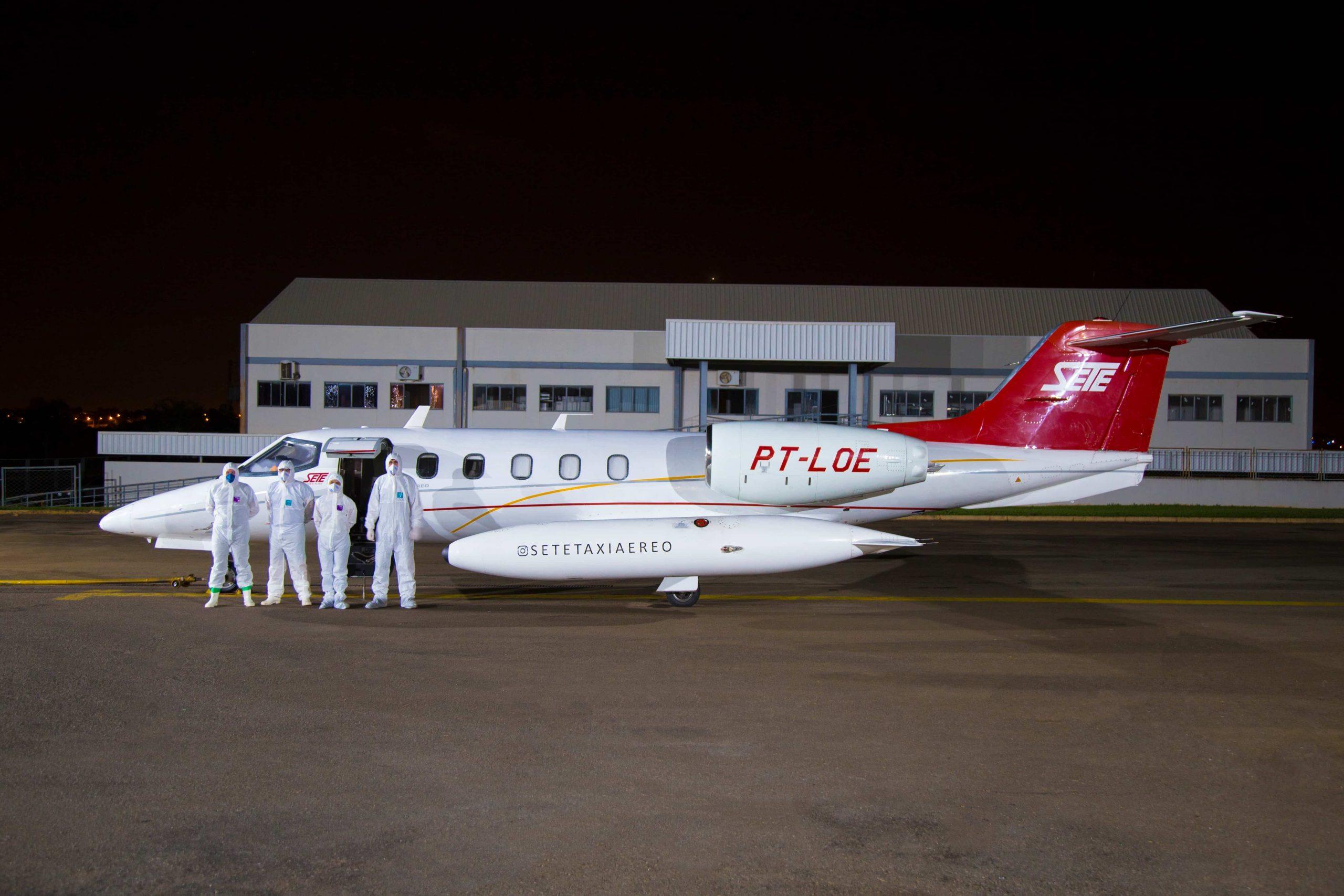 UTI Aérea COVID-19 de Parauapebas  para Brasília