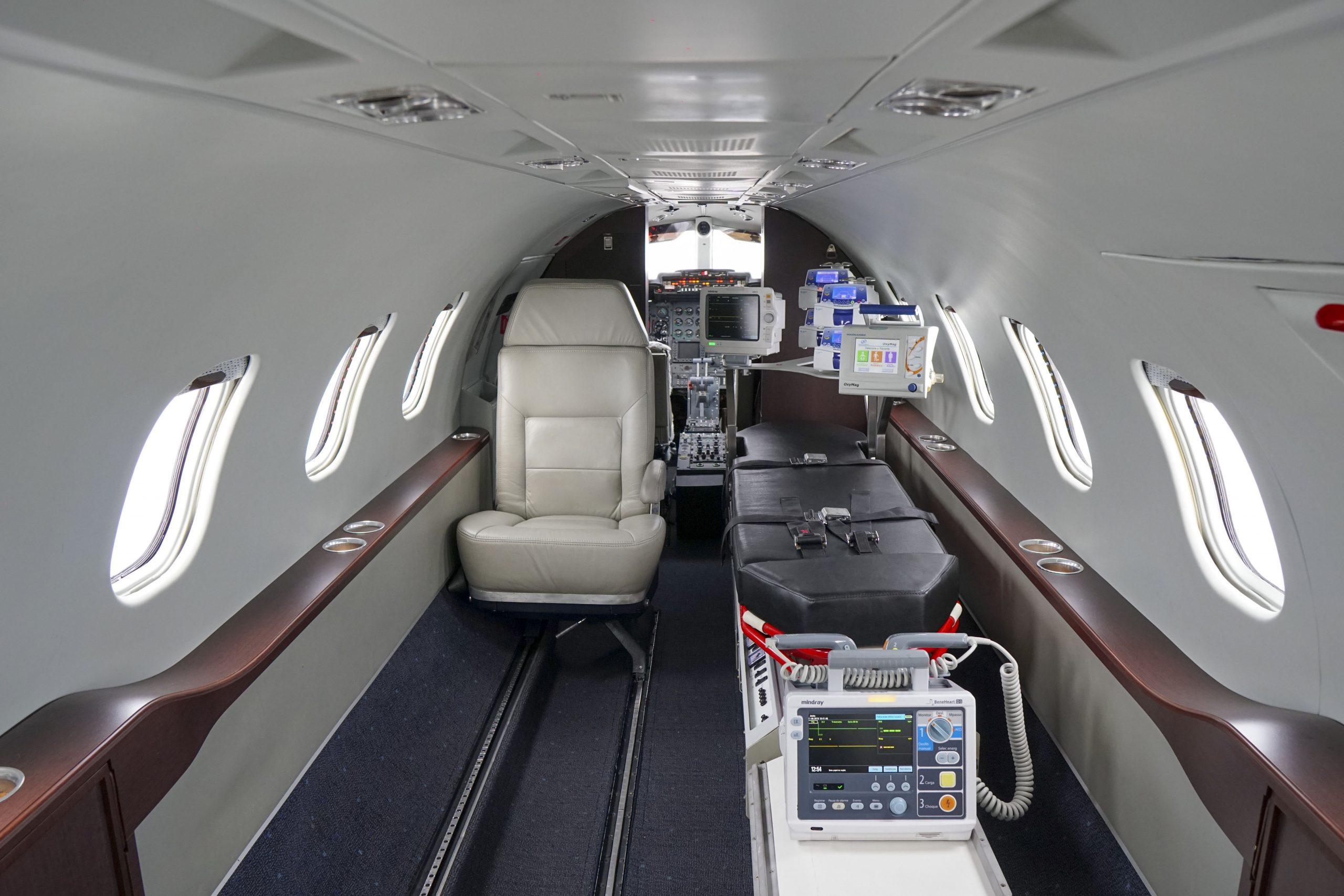 Contratando um Transporte Aeromédico