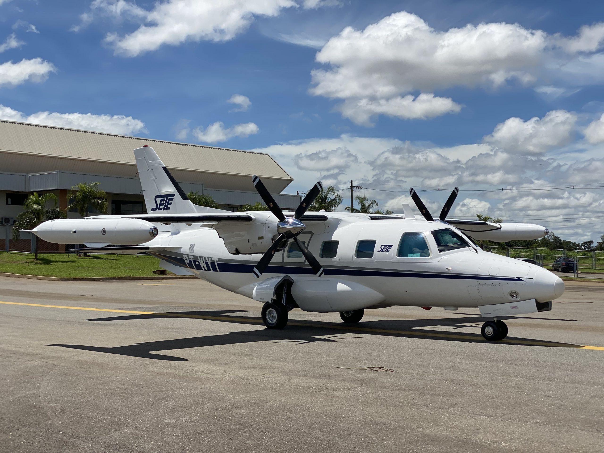 UTI Aérea Mitsubishi MU-2