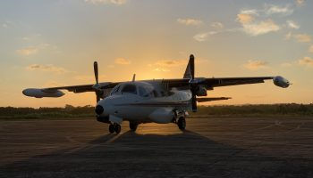 UTI Aérea -Turbo Hélice - Mitsubishi MU-2