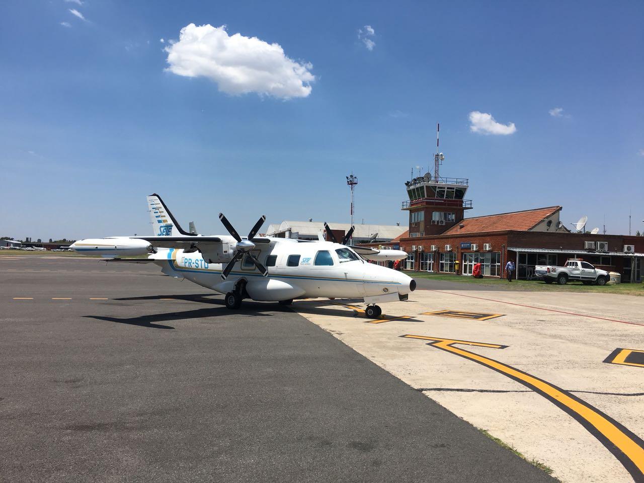 UTI Aérea Turbo Hélice Mitsubishi MU-2