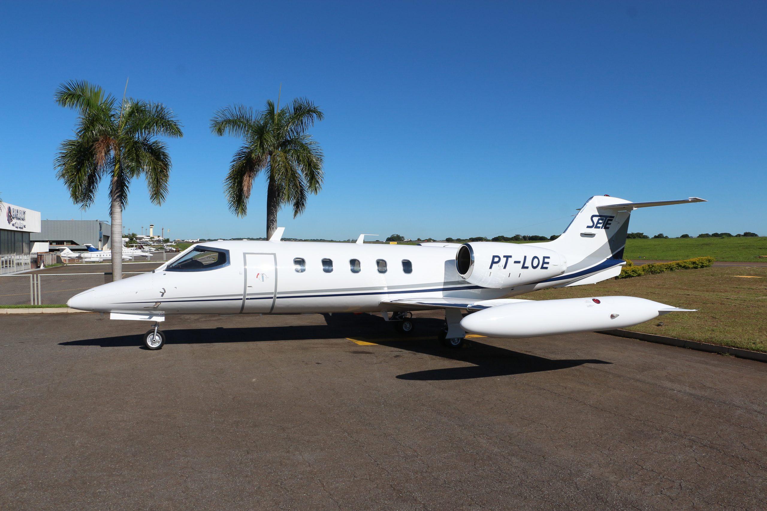 UTI Aérea Jato - Learjet 35A